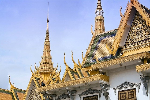 The Royal Palace, in Phnom Penh